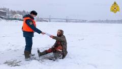ГИМС МЧС России предупреждает – выход на лед опасен для жизни